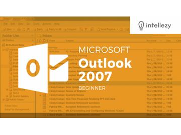 Outlook 2007 Introduction - Chapter 7: Working with Contacts output