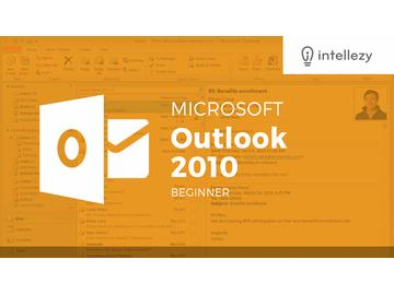 Outlook 2010 Introduction - Chapter 1 : Getting Oriented output