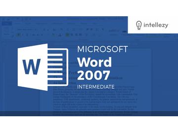Word 2007 Intermediate - Conclusion