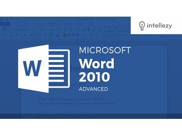 Word 2010 Advanced - Conclusion output