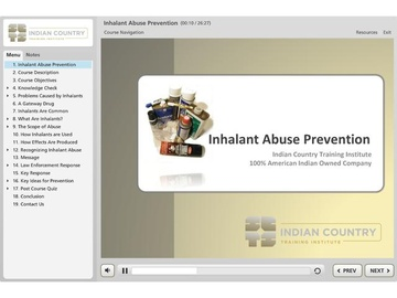 Inhalant Abuse Prevention - Course