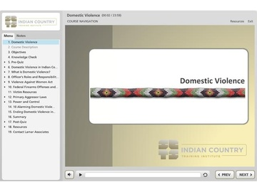 Domestic Violence - Course