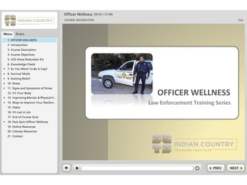 Officer Wellness - Course