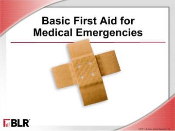Basic First Aid for Medical Emergencies
