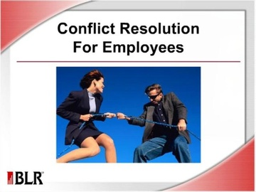 Conflict Resolution for Employees Course