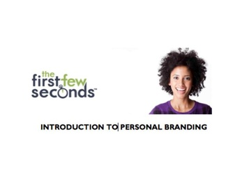 110 Introduction to Personal Branding