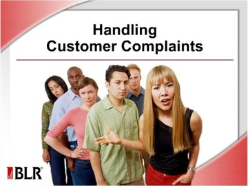 Handling Customer Complaints Course