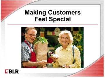 Making Customers Feel Special