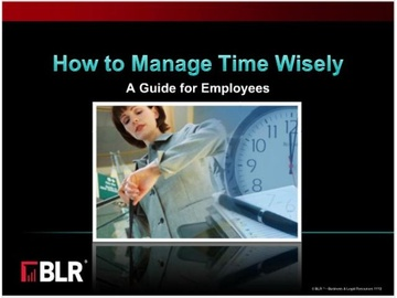 How to Manage Time Wisely - A Guide for Employees Course