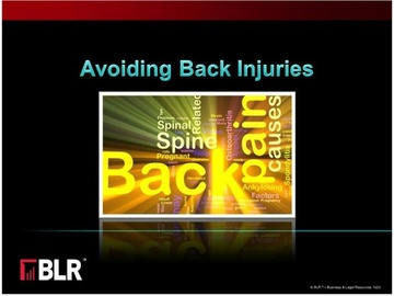 Avoiding Back Injuries Course