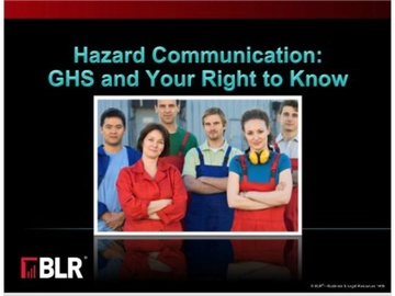 Hazard Communication and GHS - Your Right to Know Course