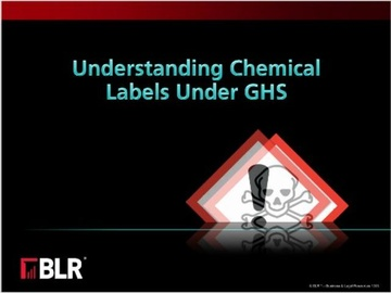 Understanding Chemical Labels Under GHS Course