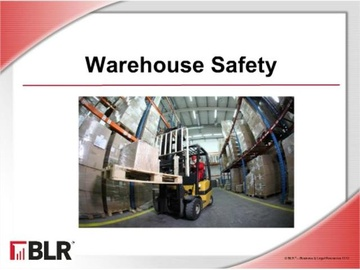 Warehouse Safety Course