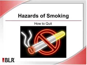 Hazards of Smoking: How to Quit Course