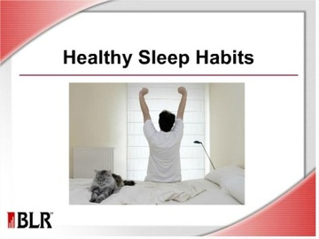 Healthy Sleep Habits Course