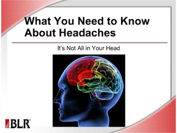 What You Need to Know About Headaches Course