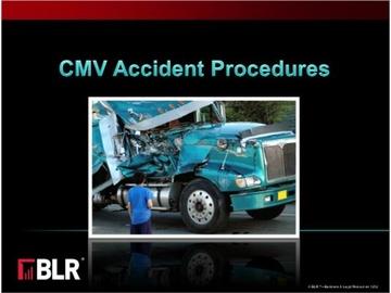 CMV Accident Procedures Course