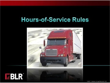 Hours-of-Service Rules Course