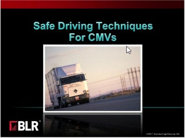 Safe Driving Techniques for CMVs Course