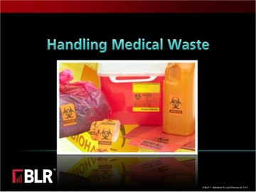 Handling Medical Waste Course