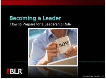 Becoming a Leader - How to Prepare for a Leadership Role Course