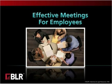 Effective Meetings for Employees Course