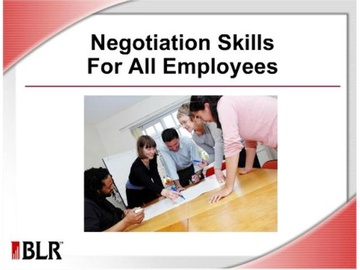 Negotiation Skills for Employees Course