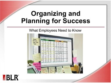 Organizing and Planning for Success - What Employees Need to Know Course