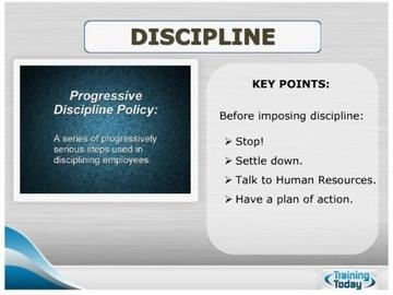Discipline Course