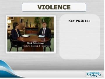 Violence Course