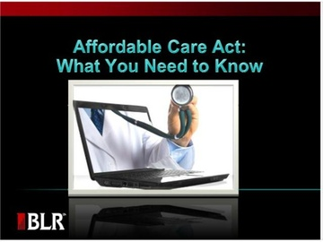 Affordable Care Act - What You Need to Know Course