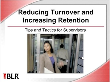 Reducing Turnover and Increasing Retention Course