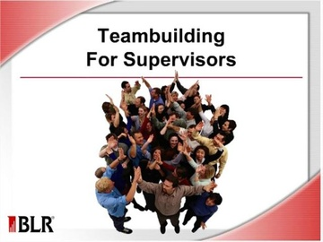 Teambuilding for Supervisors Course