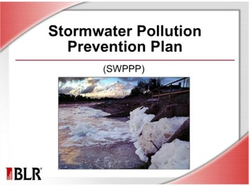 Stormwater Pollution Prevention Plan (SWPPP)