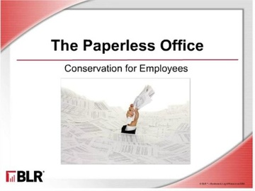 The Paperless Office - Conservation for Employees Course