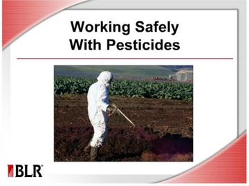 Working Safely with Pesticides Course