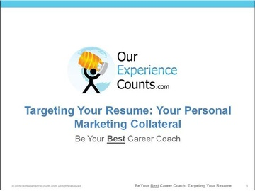 3. Target Your Resume