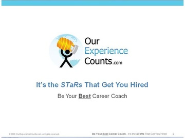 1. Its the STaRs That Get You Hired