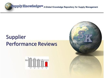 Supplier Performance Review