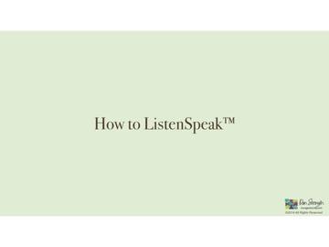 ListenSpeak™