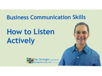 How to Listen Actively, Introduction