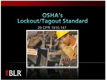 OSHA's Lockout/Tagout Standard