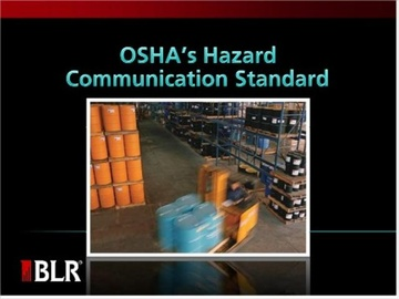 OSHA's Hazard Communication Standard Course