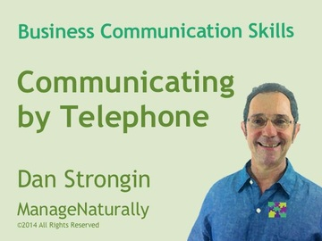 Communicating by Telephone