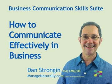 Business Communication Skills Suite: How to Communicate Effectively at Work