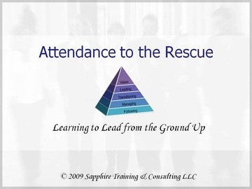Attendance to the Rescue