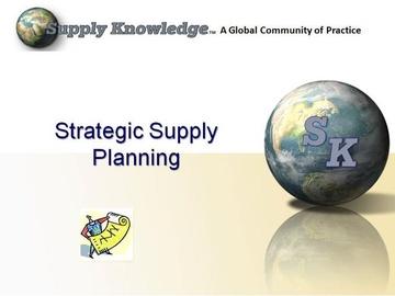 Supply Planning