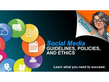 Introduction to Social Media Guidlines and Policies
