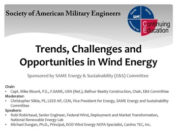 Video: Trends, Challenges and Opportunities in Wind Energy