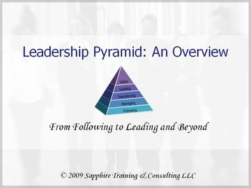 Leadership Pyramid: An Overview